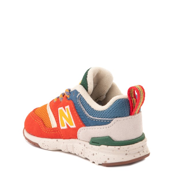 alternate view New Balance 997H Athletic Shoe - Baby / Toddler - Vintage OrangeALT1