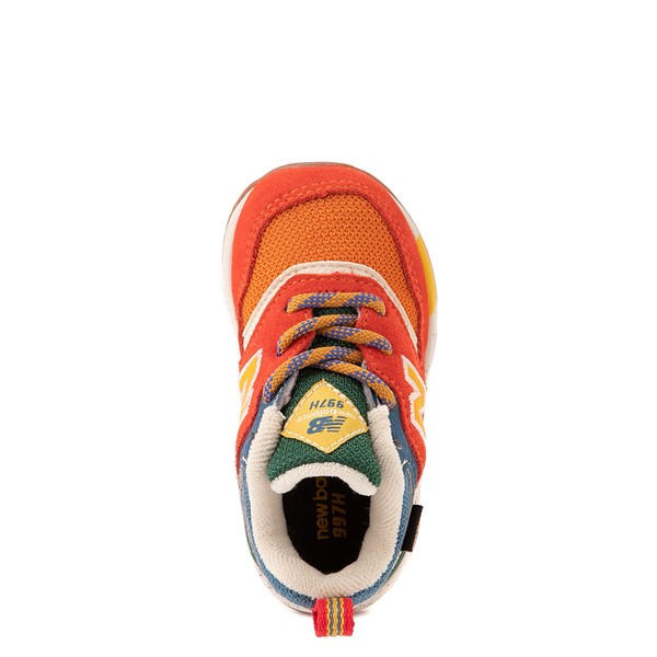 alternate view New Balance 997H Athletic Shoe - Baby / Toddler - Vintage OrangeALT2