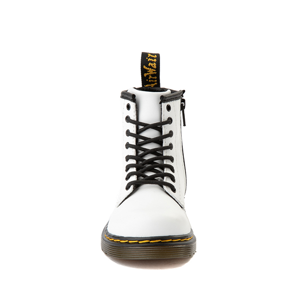 alternate view Dr. Martens 1460 8-Eye Boot - Toddler - WhiteALT4