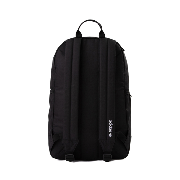 alternate view adidas Originals Stacked Trefoil Backpack - BlackALT2