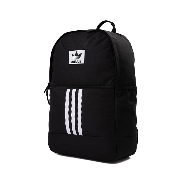 alternate view adidas Originals Stacked Trefoil Backpack - BlackALT4