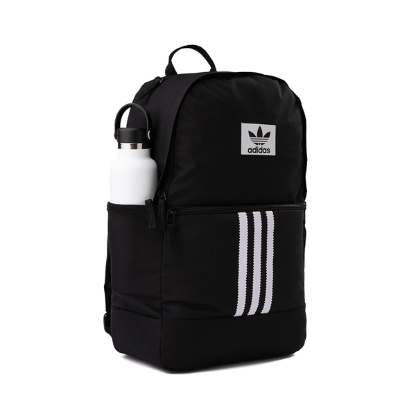 alternate view adidas Originals Stacked Trefoil Backpack - BlackALT4B