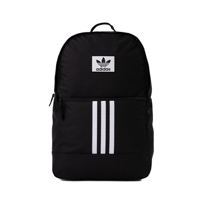 Main view of adidas Originals Stacked Trefoil Backpack - Black