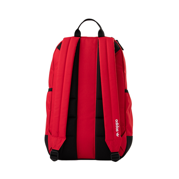 alternate view adidas Originals Stacked Trefoil Backpack - ScarletALT2