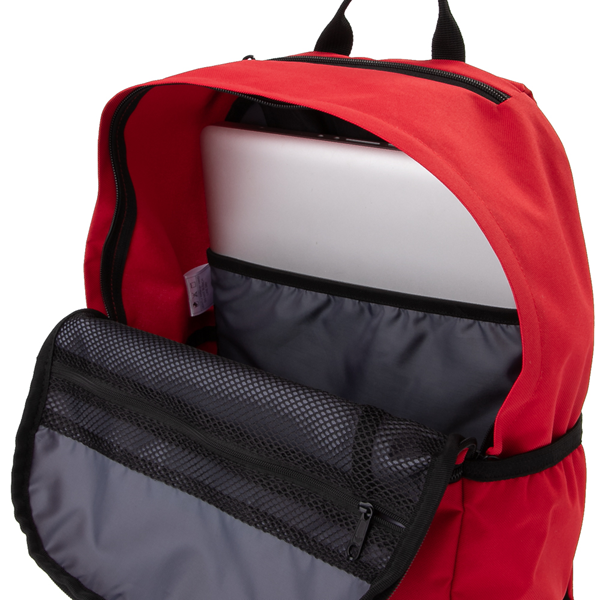 alternate view adidas Originals Stacked Trefoil Backpack - ScarletALT3