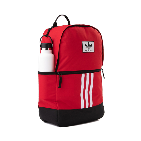 alternate view adidas Originals Stacked Trefoil Backpack - ScarletALT4B