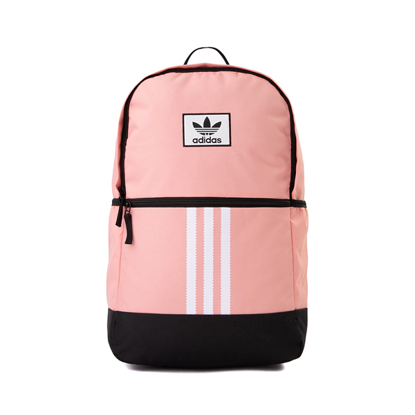 Main view of adidas Originals Stacked Trefoil Backpack - Trace Pink