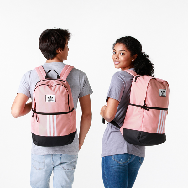 alternate view adidas Originals Stacked Trefoil Backpack - Trace PinkALT1BADULT