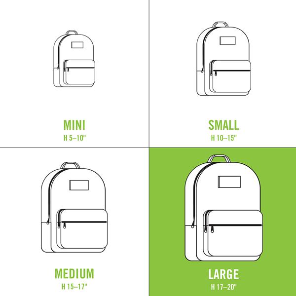 alternate view adidas Originals Stacked Trefoil Backpack - Trace PinkALT1C