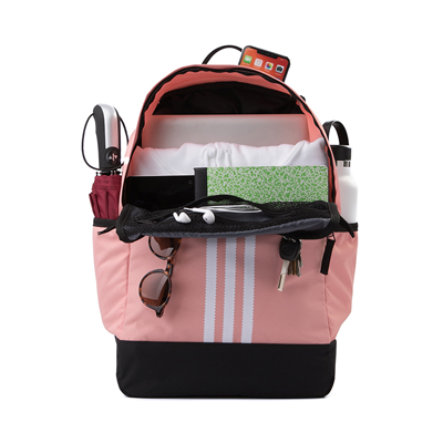Alternate view of adidas Originals Stacked Trefoil Backpack - Trace Pink