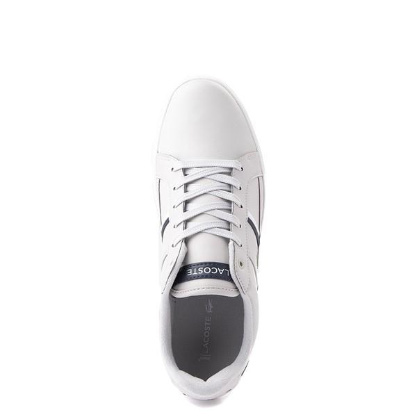 alternate view Mens Lacoste Europa Athletic Shoe - Light GrayALT4B