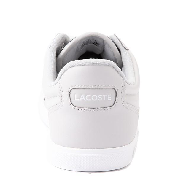 alternate view Mens Lacoste Europa Athletic Shoe - Light GrayALT6