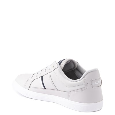Alternate view of Mens Lacoste Europa Athletic Shoe - Light Gray