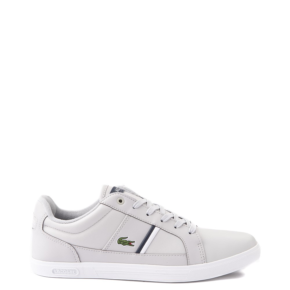 Mens Lacoste Europa Athletic Shoe - Light Gray