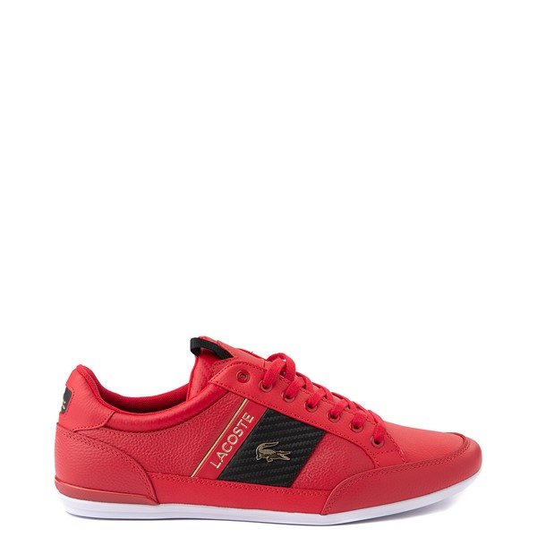 Main view of Mens Lacoste Chaymon Sneaker - Red