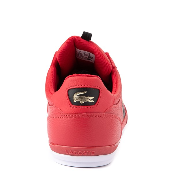 alternate view Mens Lacoste Chaymon Sneaker - RedALT4
