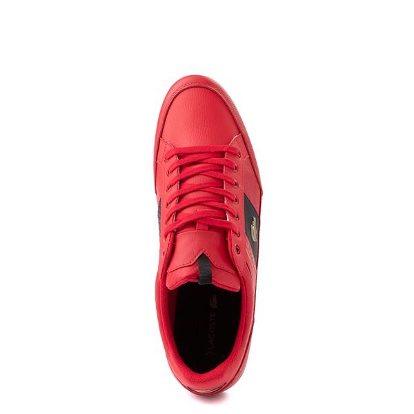 alternate view Mens Lacoste Chaymon Sneaker - RedALT4B