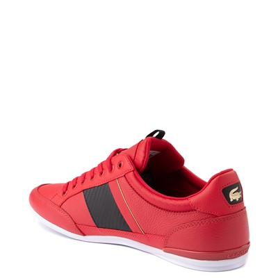Alternate view of Mens Lacoste Chaymon Sneaker - Red