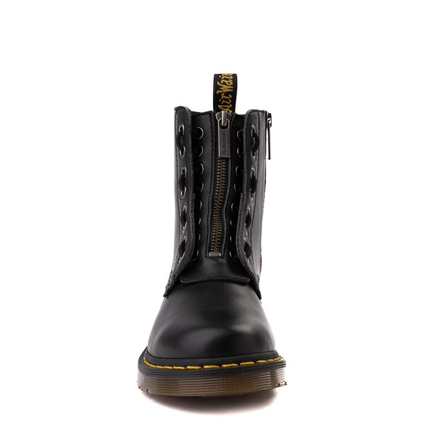 alternate view Womens Dr. Martens 1460 Pascal Zipper Boot - BlackALT4