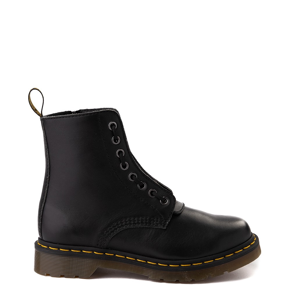 Womens Dr. Martens 1460 Pascal Zipper Boot - Black