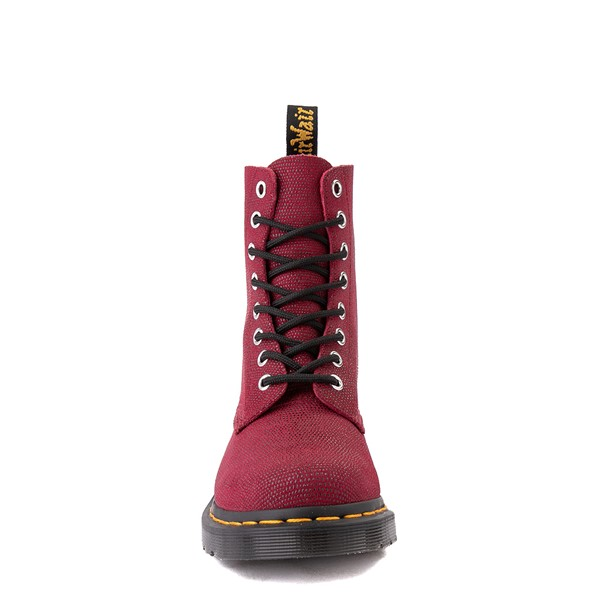 alternate view Womens Dr. Martens 1460 Pascal Glitter Ray 8-Eye Boot - CherryALT4