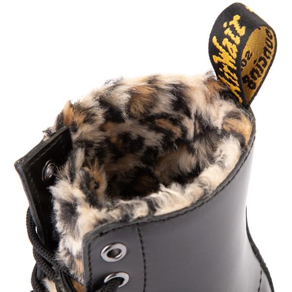 alternate view Womens Dr. Martens 1460 8-Eye Serena Boot - Black / LeopardALT6