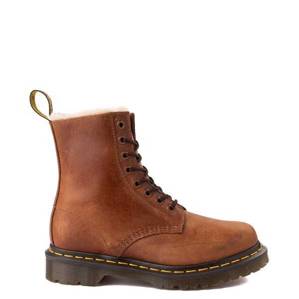 Main view of Womens Dr. Martens 1460 8-Eye Serena Boot - Butterscotch