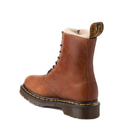 Alternate view of Womens Dr. Martens 1460 8-Eye Serena Boot - Butterscotch