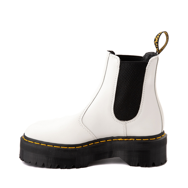 alternate view Dr. Martens 2976 Platform Chelsea Boot - WhiteALT1