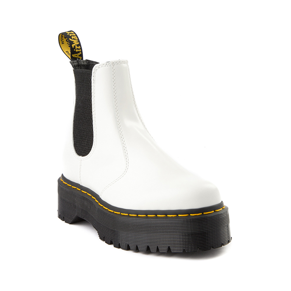 alternate view Dr. Martens 2976 Platform Chelsea Boot - WhiteALT5