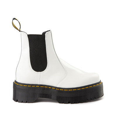 Main view of Dr. Martens 2976 Platform Chelsea Boot - White