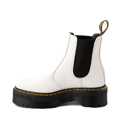 Alternate view of Dr. Martens 2976 Platform Chelsea Boot - White