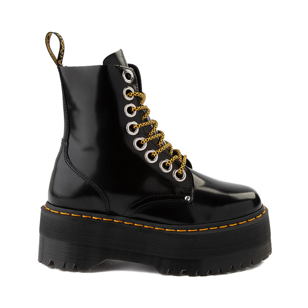 Main view of Womens Dr. Martens Jadon Max Platform Boot - Black