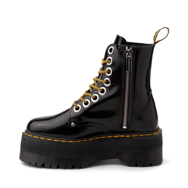 alternate view Womens Dr. Martens Jadon Max Platform Boot - BlackALT1