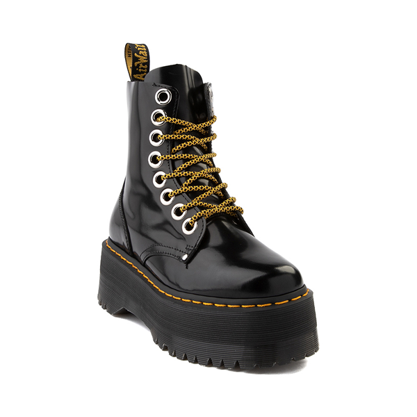 alternate view Womens Dr. Martens Jadon Max Platform Boot - BlackALT5