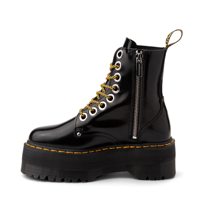 Alternate view of Womens Dr. Martens Jadon Max Platform Boot - Black