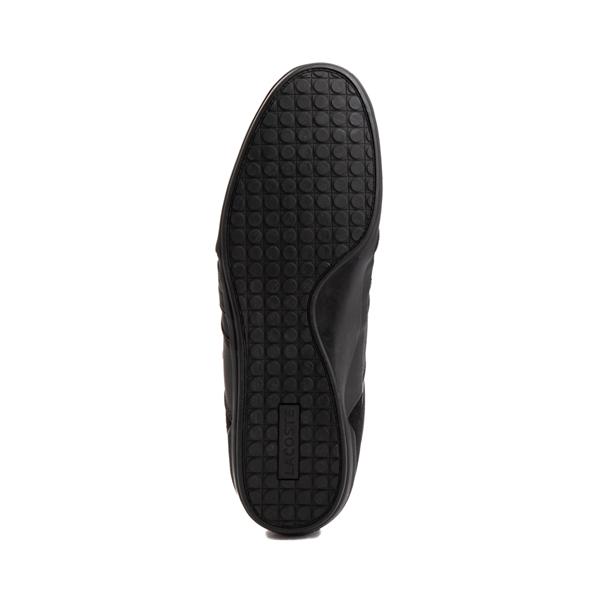 alternate view Mens Lacoste Misano Athletic Shoe - Black / GoldALT3