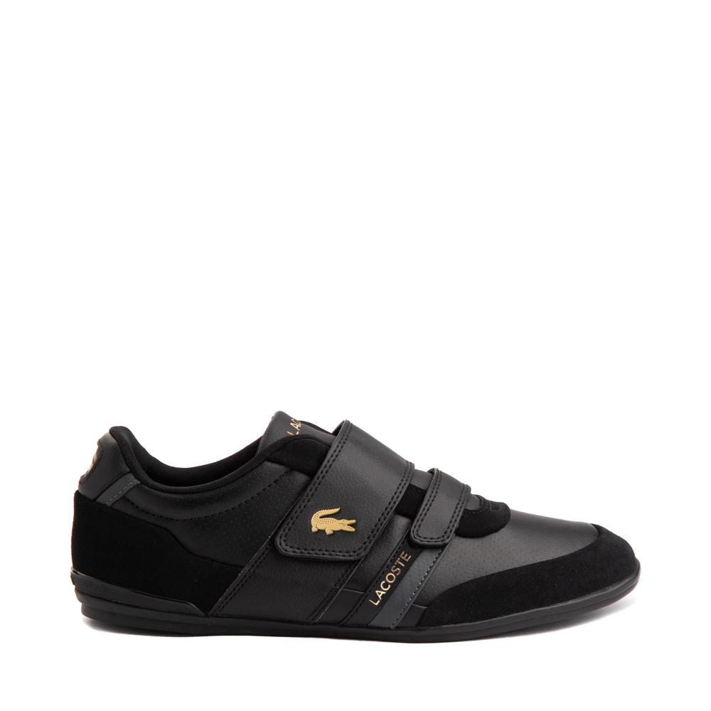 Mens Lacoste Misano Athletic Shoe - Black / Gold