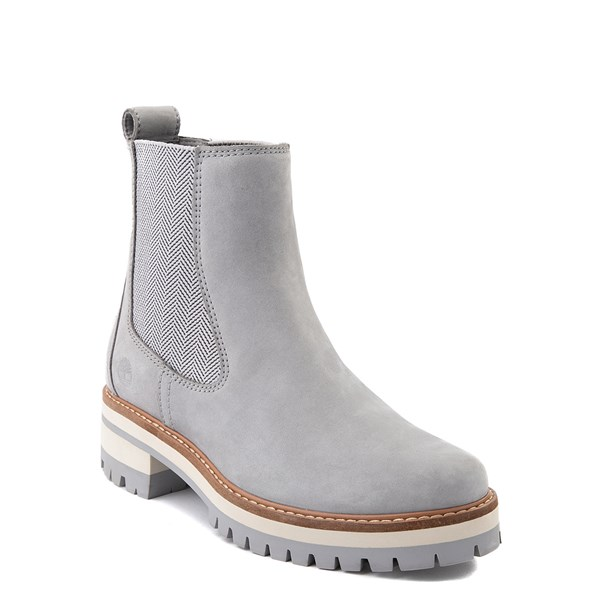 alternate view Womens Timberland Courmayeur Valley Chelsea Boot - GrayALT1