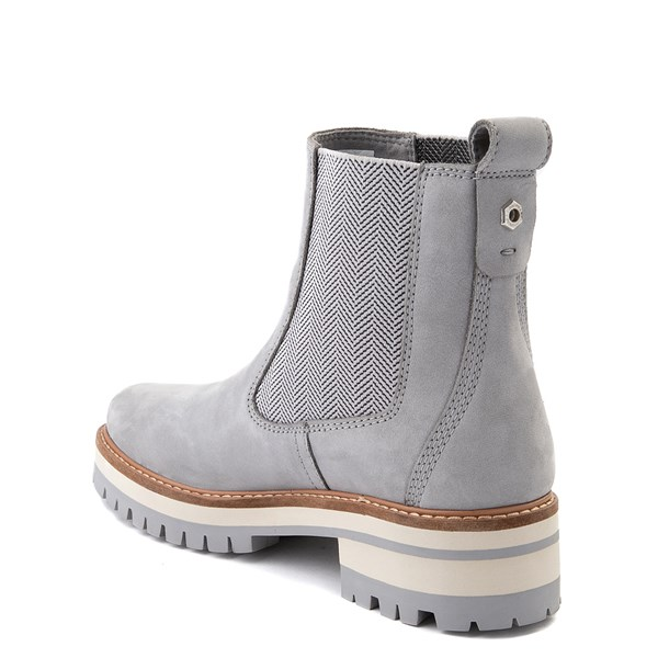 alternate view Womens Timberland Courmayeur Valley Chelsea Boot - GrayALT2