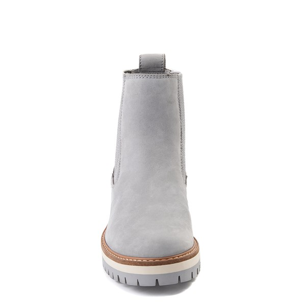 alternate view Womens Timberland Courmayeur Valley Chelsea Boot - GrayALT4