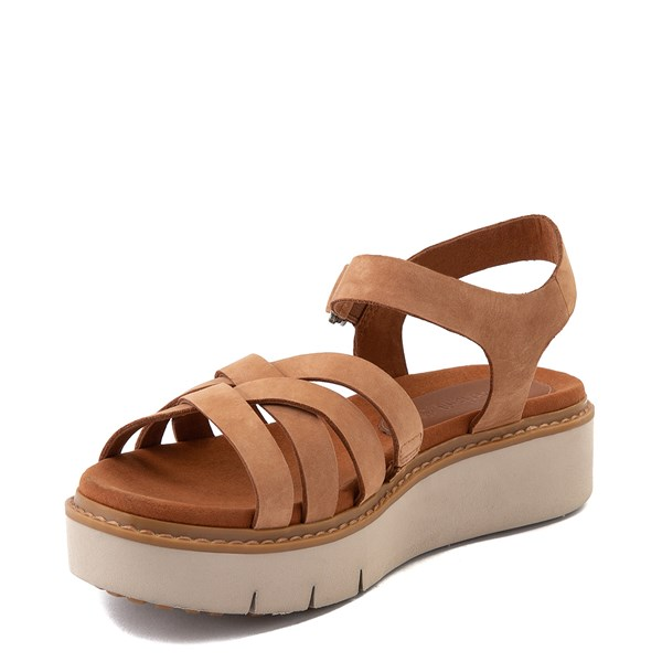 alternate view Womens Timberland Safari Dawn Sandal - RustALT3