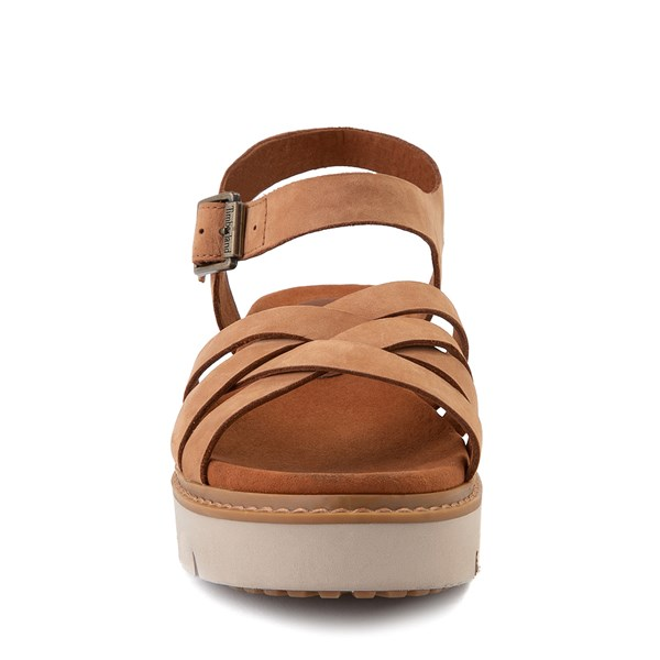 alternate view Womens Timberland Safari Dawn Sandal - RustALT4