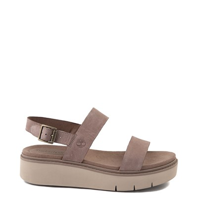 Main view of Womens Timberland Safari Dawn 2-Band Sandal - Taupe