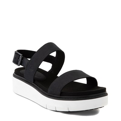 Alternate view of Womens Timberland Safari Dawn 2-Band Sandal - Black