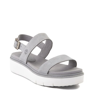 Alternate view of Womens Timberland Safari Dawn 2-Band Sandal - Gray