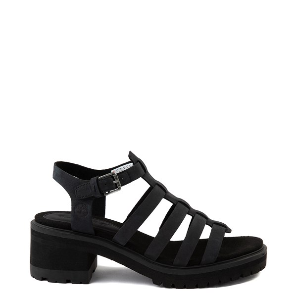 Womens Timberland Violet Marsh Fisherman Sandal - Black