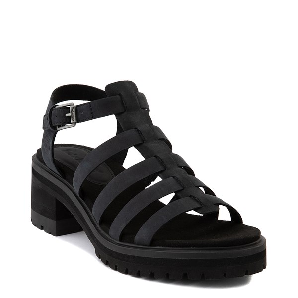 alternate view Womens Timberland Violet Marsh Fisherman Sandal - BlackALT1