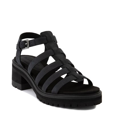 Alternate view of Womens Timberland Violet Marsh Fisherman Sandal - Black