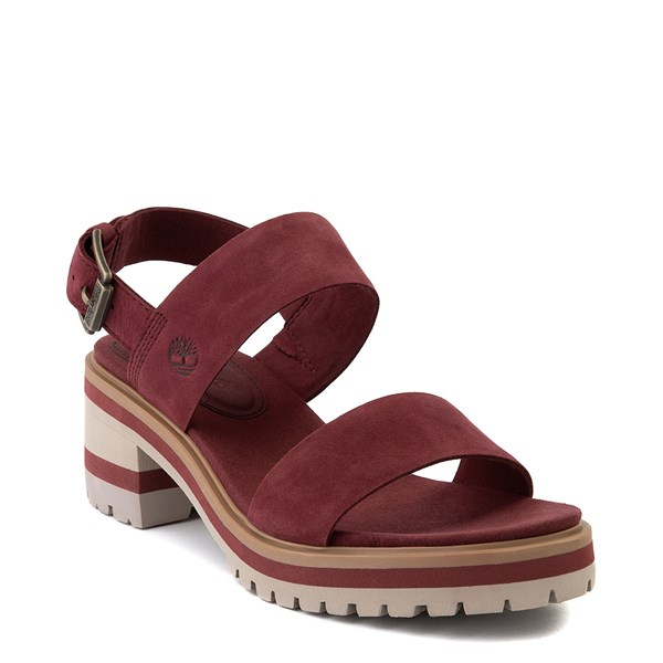 alternate view Womens Timberland Violet Marsh Sandal - BurgundyALT1